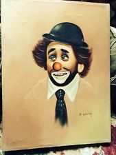 hobo clown painting - Google Search