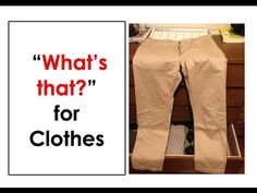 What's that?  Clothes. Easy English Conversation Practice.