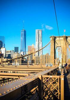 Brooklyn Bridge - A Path to Somewhere