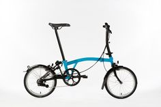 Brompton Black Edition - Lagoon blue