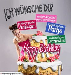 Die 15 Besten Bilder Von Geburtstag Birthdays Birthday Cards Und