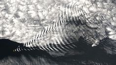 Waves of clouds, Sandwich Islands.