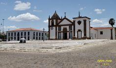 Oeiras, Piauí - Brasil, prefeitura e igreja matriz
