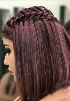 Trendy ideas of shoulder length braided haircuts with different awesome hair colors is perfect to wear in 2018.