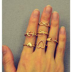 Conjunto de Anéis MariaBiju