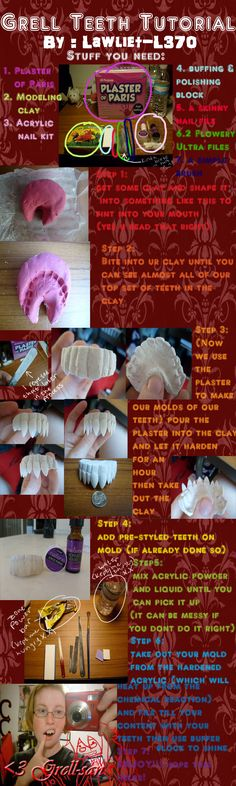 Grell teeth tutorial by ~lawliet-L370 on deviantART