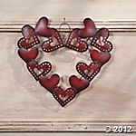 Hearts on heart wreath on Terrysvillage.com! $15. Be sure to check Retailmenot to see if there's any coupon codes!