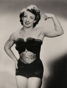 Get in the ring: Vintage images of female bodybuilders and 'strong women' showing off   Dangerous Minds