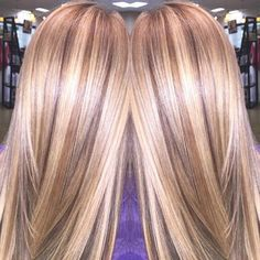 blonde hair with brown lowlights tumblr - Google Search