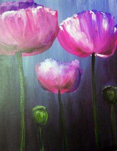 I am going to paint Spring Tulips at Pinot's Palette - Fort Collins to discover my inner artist! Spring Art Projects, Art Projects For Adults, Art Studio Design, Flower Art, Art Flowers, Flower Colors, Painting Flowers, Spring Painting, Paint And Sip