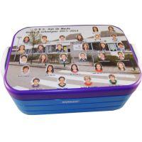 Gepersonaliseerde Mepal lunchbox | MyMepal. Met een Goedgemerkt naamlabel weet je ook van wie deze lunchbox precies is!