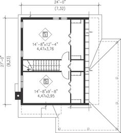 Country Style House Plan 49831 with 3 Bed, 1 Bath Guest House Plans, Cottage House Plans, Dream House Plans, Cabin Plans, Cottage Homes, Custom Home Designs, Custom Homes, Diy Cabin, Cabin Ideas