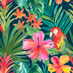 Search Patternbank for thousands of royalty-free stock seamless repeat patterns, vectors, trend forecasting and more. Repeating Patterns, Print Patterns, Royalty, Tropical Prints, Spring Summer, Explore, Bird, Stuff To Buy, Painting