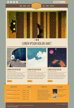 50 High quality free psd templates | AntsMagazine.Com