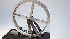 Perpetual motion water wheel - YouTube