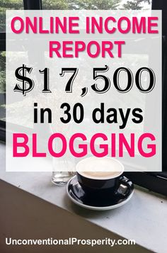 If you are a blogger then this simple income report might give you a few ideas on how to make more money blogging! #blogging #blog #incomereport