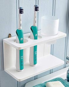 Electric Toothbrush Stand   House of Bath