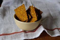 Raw Vegetable Juice Pulp Crackers - Leftovers Put To Good Use! (Recipe)