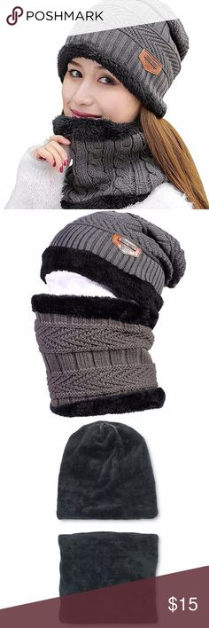 """Unisex Knit Skull Cap Lined Thick Warm Slouchy Material: Premium quality stretchy, thermal spun acrylic and artificial wool inner.  Very soft and cozy, hand-knitted feel, close to the skin, giving you lasting warmth and softness Size:11.2""""Deep*9.85""""Width, Head Circumference: 21.26 inch ~ 25.63 inch,Stretchy and elastic,One size fits most Criss-cross weave knit stylish design,delicate sewing thread,added better durability; Casual fashion and new trending, make it easy to match various outfits…"""