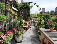 Балконы и террасы Нью-Йорка: уютный оазис посреди шумного мегаполиса - Путешествуем вместе