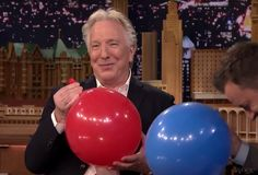 To everyone out there who is mourning Alan Rickman. After a long crisis which was basically me crying into a pillow for more than 6 hours and checking all the posts about his death I finally saw this vid. I smiled. This is the Alan Rickman we know. This is the Alan Rickman we love. This is the Alan Rickman I want to remember. I shall never forget you, Alan. Have some nice adventures up there, bc death to a well-organised mind is only another adventure :,) © Potterhead + Demigod