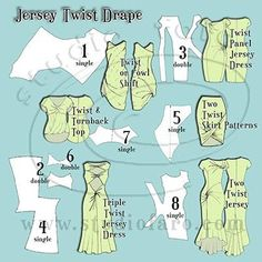 Jersey Twist Patterns