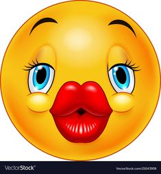Ok sign female emoticon Royalty Free Vector Image