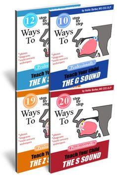 Teach the Sound Books Pinned by SOS Inc. Resources http://pinterest.com/sostherapy.