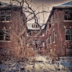Abandoned Detroit Home