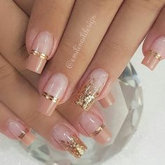 Need some wedding nails inspiration for your big day? You've come to the right place, here are the most beautiful wedding nail designs for your special day from artists around the world. nails 100 Beautiful wedding nail art ideas for your big day Elegant Nails, Stylish Nails, Romantic Nails, Pink Nails, Gel Nails, Coffin Nails, Nail Polish, Nagel Hacks, Wedding Nails Design