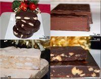 Creamos esta entrada de Recetas de turrón para que sirva como guía a tod@s los que os animéis a hacer turrón artesano, sean turrones tradicionales o algunos más innovadores, como marcan las nuevas tendencias del mercado. Debemos decir al respecto, que en nuestra mesa de Navidad nunca faltan los turrones clásicos, que para nosotros son el Turrón de Jijona (turrón blando), el Turrón de Alicante (turrón duro), el Turrón de yema tostada, el Turrón de chocolate (sea de avellanas, almendra o arroz…
