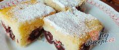 Provo a farla Dessert Bars, Dessert Recipes, German Baking, Bithday Cake, Hungarian Recipes, Sweets Cake, Italian Desserts, Cakes For Boys, Food Design