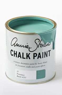 <p>The south of France has shutters and doors painted in a range of turquoise blue greens, some bright and some faded. Provence was inspired by these colours. It also works beautifully for a modern look.</p> <p>Available in 100ml small project pots and 1 litre tins.</p>