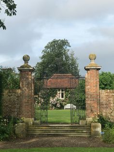 The beautiful english garden of Hole Park where Layered Lounge attended the Wealden Times Midsummer Fair.