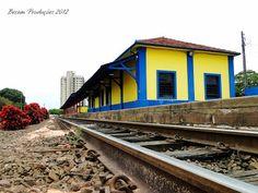 Estação de Cerquilho, restaurada e atualmente...
