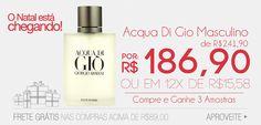 Perfume Acqua Di Gio com Desconto!