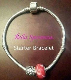 Start with a bracelet or necklace and add charms to tell your story. www,bella-speranza.net Rep ID #4199