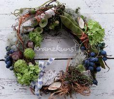 Kränze - NATURKRANZ ♥ Landhaus ♥ Spätsommer/Herbst - ein Designerstück von…