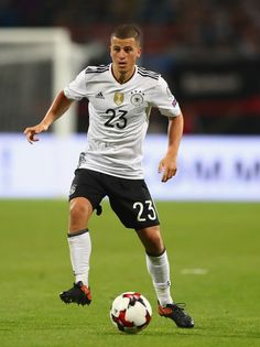 Diego Demme of Germany in action during the FIFA 2018 World Cup Qualifier between Germany and San Marino at Stadion Nurnberg on June 10, 2017 in Nuremberg, Bavaria.