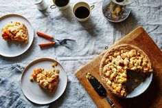 Butternut squash pie-cake from Food52