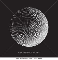 Isometric abstract geometric design elements are assembled from a set of points. Perfectly suited to background, structural design - stock vector