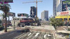 Grand Theft Auto GTA V Benchmark |max settings| GTX 970 G1 gaming i5 357...