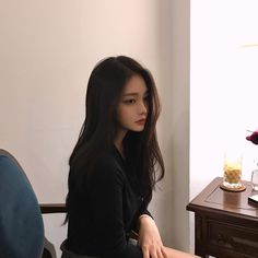 Imagem de girl, korean, and ulzzang Pretty Korean Girls, Cute Korean Girl, Beautiful Asian Girls, Mode Ulzzang, Ulzzang Korean Girl, Korean Beauty, Asian Beauty, Tumbr Girl, Uzzlang Girl