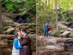 Outfits with multiple layers and colors add the most dimension and interest to your engagement photos