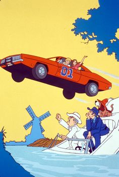 Dukes of Hazzard General Lee, Cartoon Quotes, Cartoon Art, Classic Trucks, Classic Cars, Hot Wheels, Dukes Of Hazard, Morning Cartoon, Confederate Flag