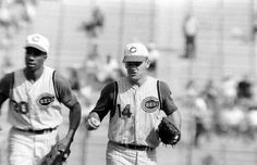 Frank Robinson and Pete Rose, 1965
