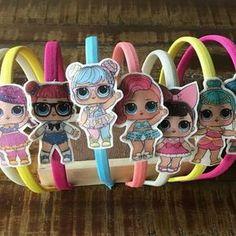 lol-party-print-felt-felt-applique-tiaras-lol-surprise - Ella's party - 6th Birthday Parties, 8th Birthday, Surprise Birthday, Doll Party, Bday Girl, Felt Applique, Lol Dolls, Creations, Party Ideas