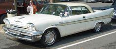 1958 DeSoto Sportsman - White  Gold - Side Angle