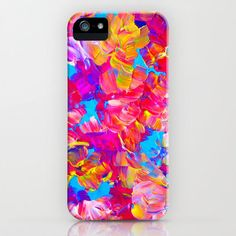 FLORAL FANTASY iPhone 4 5 5c 6 6s Case Samsung by EbiEmporium #cellphone #case #hardcover #iphonecase #iphone4 #iphone5 #iphone5c #iphone5s #iphone6 #samsunggalaxy #samsung #gs4 #gs5 #watercolor #floral #neon #hotpink #pink #turquoise #yellow #summer #flower #forher #modern #tech #device #abstract #ebiemporium #art