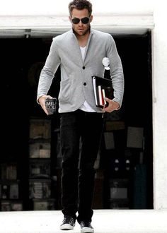 Men Style - Casual chicness. I would love Brian to dress like this.